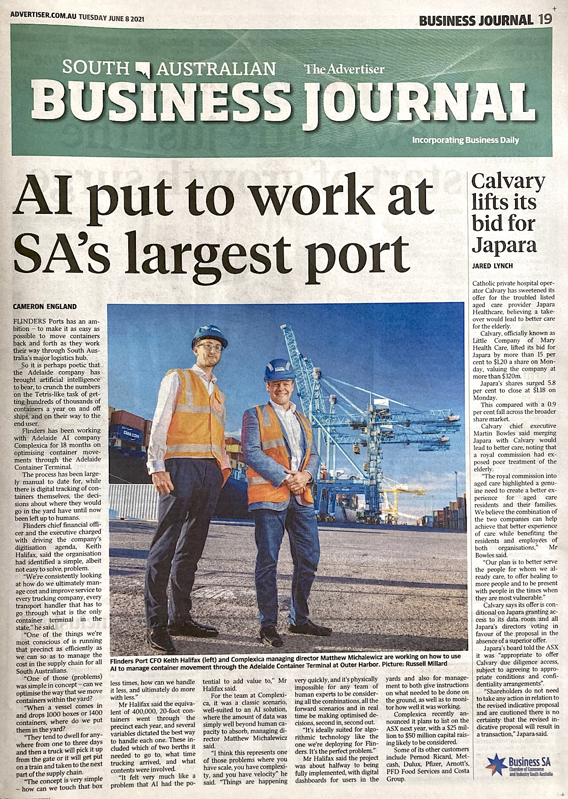 Flinders Ports and Complexica